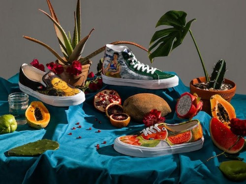Vans Is Releasing a Frida Kahlo-Inspired Footwear Collection