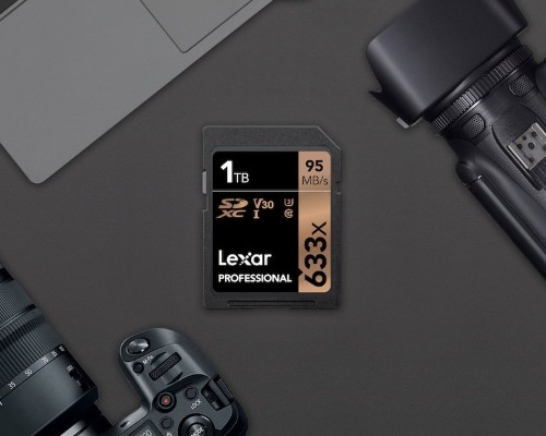 Lexar Introduces World's First 1TB SDXC Memory Card