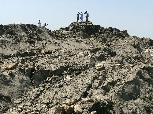 How Did the Pakistan Earthquake Create a Mud Island?