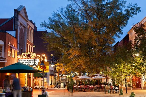 Just Back: Charlottesville, Virginia