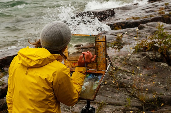 Watch: On a Tiny Island in one of the World's Largest Lakes, Artists Explore Wilderness