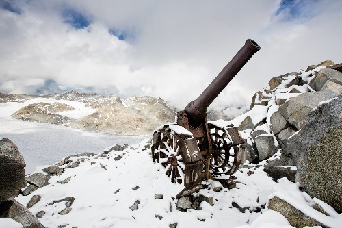 A Century Later, Relics Emerge From a War Frozen in Time