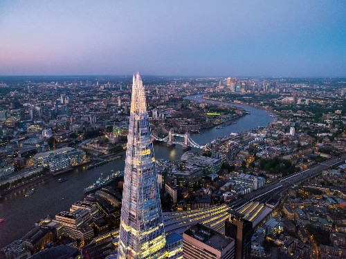 How London became the center of the world