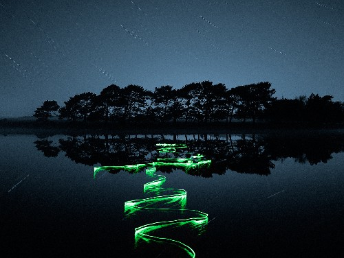 Pictures: Light Paths Reveal Water Currents