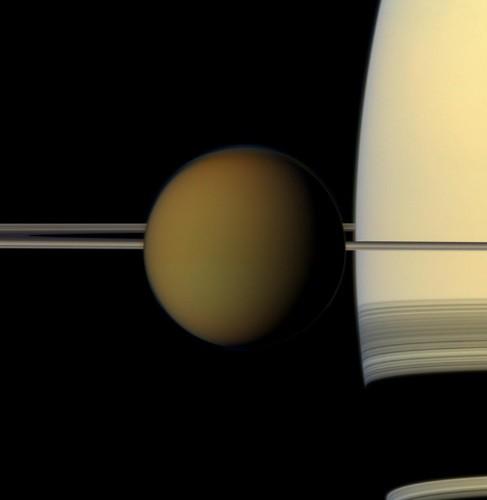 Building Block for 'Vinyl Life' Found on Saturn's Moon Titan
