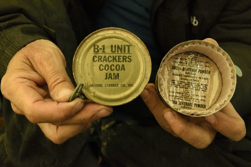 Can You Dig It? Arctic Explorers Find Buried Stash of 60 Year-Old Jam