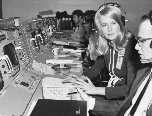 Inside Apollo mission control, from the eyes of the first woman on the job