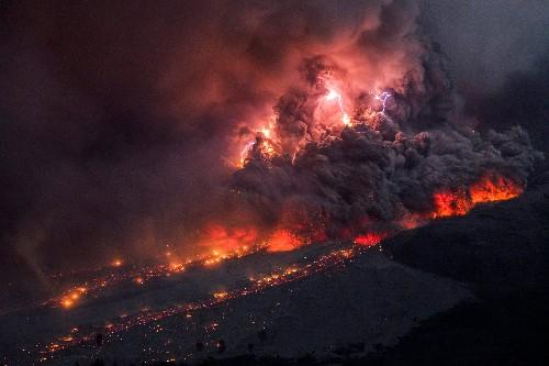 Volcanic lightning can help warn of dangerous eruptions