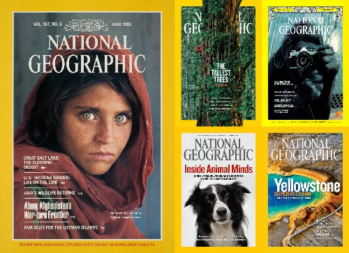 5 Irresistible National Geographic Cover Photos