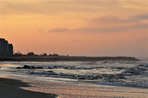 August Sunrise Long Beach, Long Island Photo by Joseph Hijuelos — National Geographic Your Shot