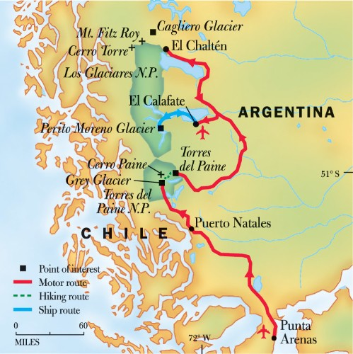 Patagonia Hiking Trip & Trekking Tour 2019