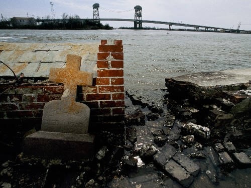 Louisiana's Bayou Is Sinking: Can $50 Billion Save It?