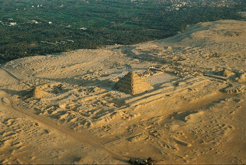 Newly Excavated 4,600-Year-Old Egyptian Pyramid Threatened by Development