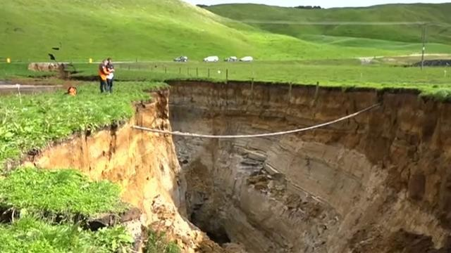 Why a Massive Sinkhole Tore Open in New Zealand