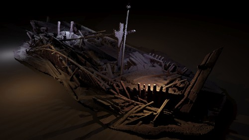 Centuries of Preserved Shipwrecks Found in the Black Sea