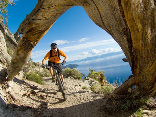 Mountain Bike the Tahoe Rim Trail, California/Nevada