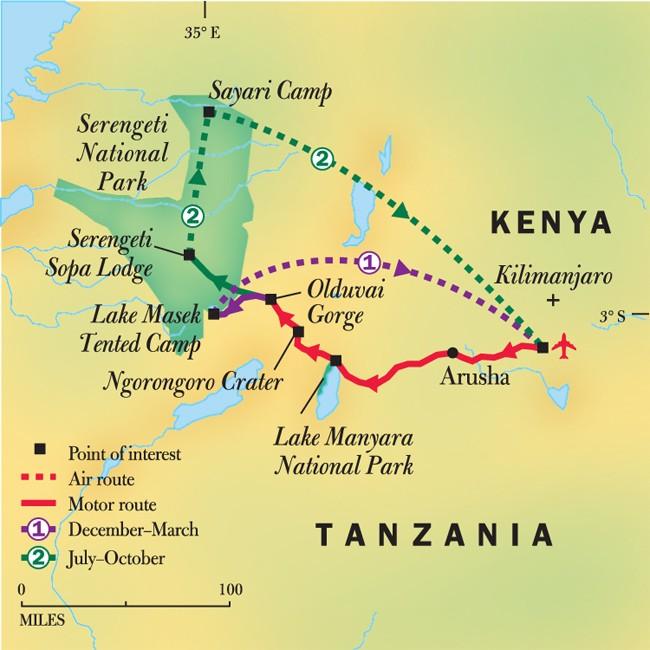 On Safari: Tanzania's Great Migration