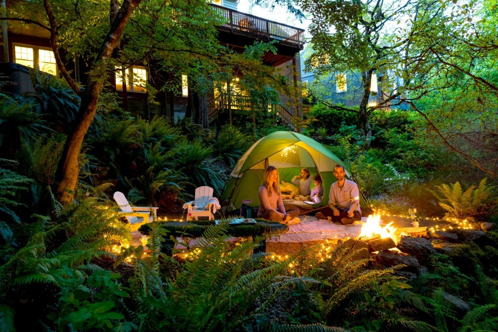 Backyard camping and other ways to fire up wanderlust at home