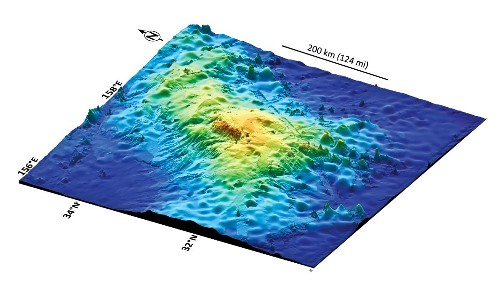 New Giant Volcano Below Sea Is Largest in the World