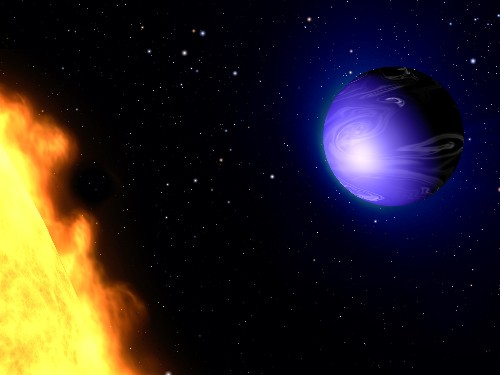 For First Time, Astronomers Read Exoplanet's Color