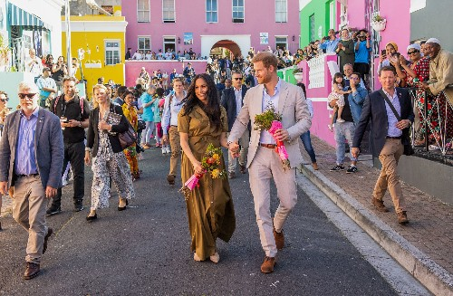 Sussex royals celebrate Cape Town's colorful cultural bastion