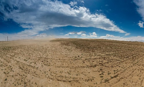 Climate change has contributed to droughts since 1900—and may get worse