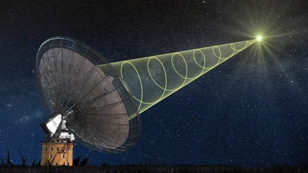 Astronomers Catch Mysterious Radio Blast From the Distant Universe