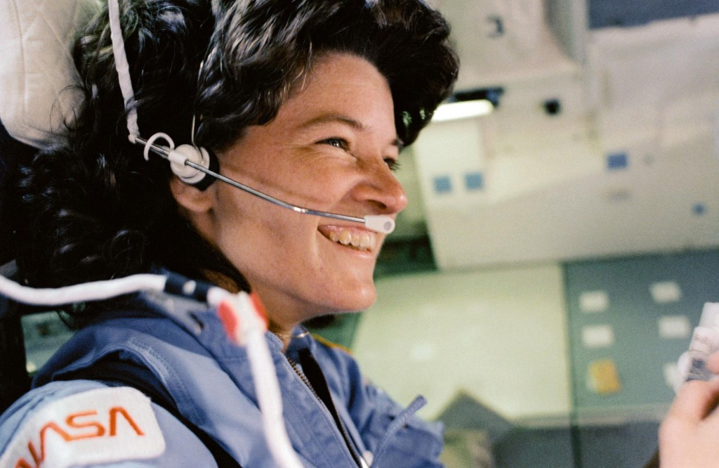 How Sally Ride blazed a trail for women in space