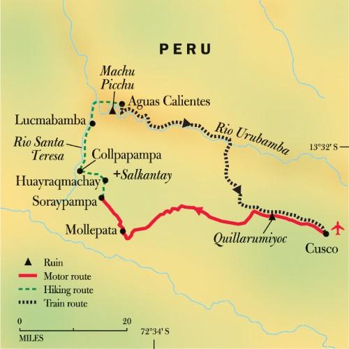 Peru: Machu Picchu Inn to Inn Trek
