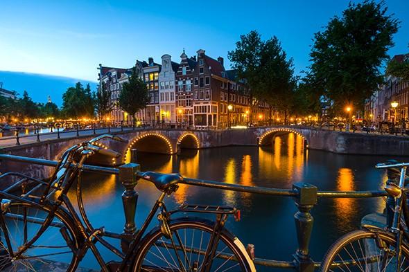 Just Back: Amsterdam