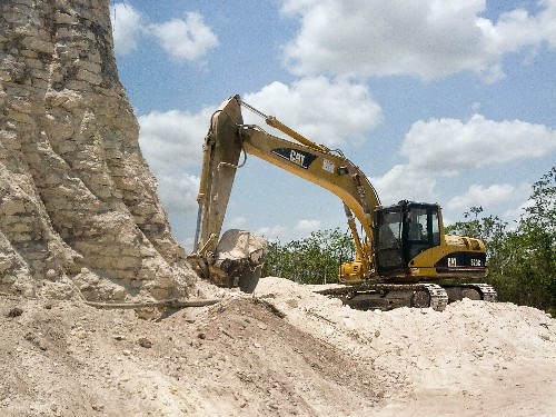 Ancient Maya Pyramid Destroyed in Belize