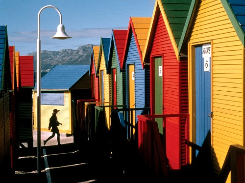 Colorful Cape Town