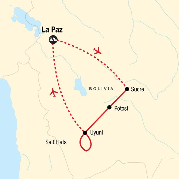 Highlights of Bolivia: Guided Tour of Bolivia