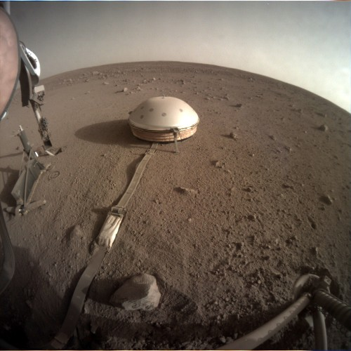 NASA's InSight lander has detected humming on Mars. Scientists aren't sure why.