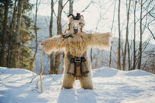 Surreal Pictures Show Bulgaria's Masked Dancers Warding Off Evil Spirits