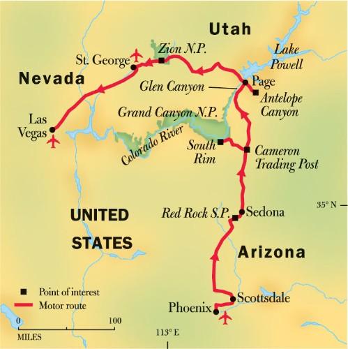 Sedona, Lake Powell & Slot Canyon Hiking Tours