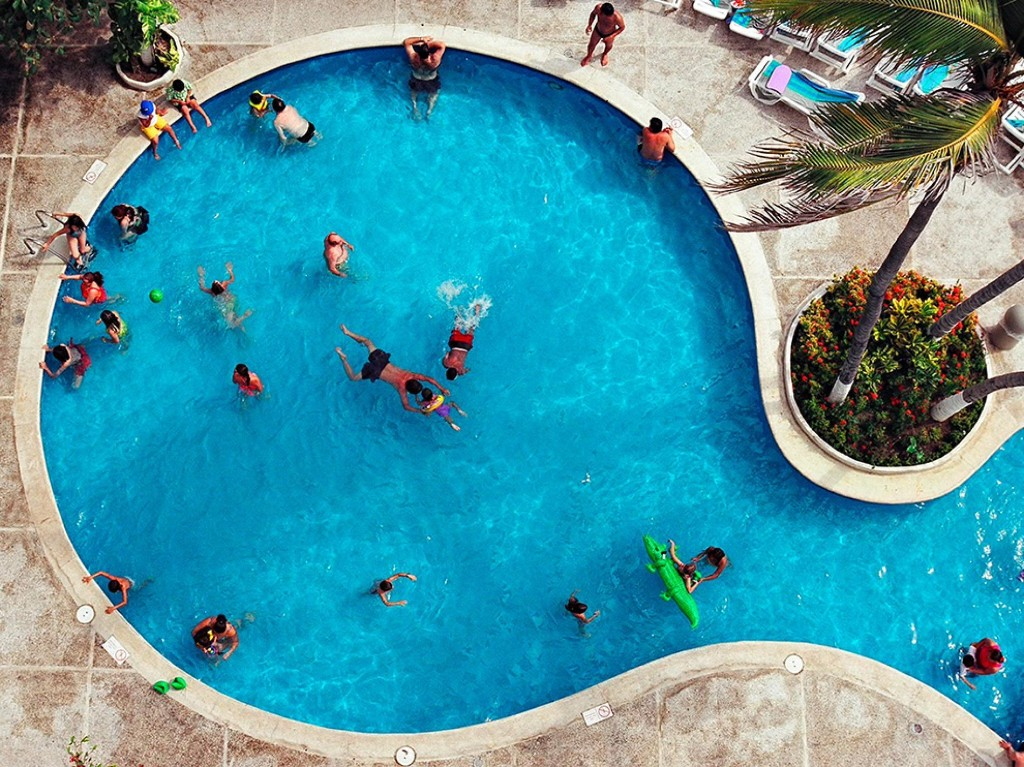 Swimming Pool Image, Acapulco - National Geographic Photo of the Day