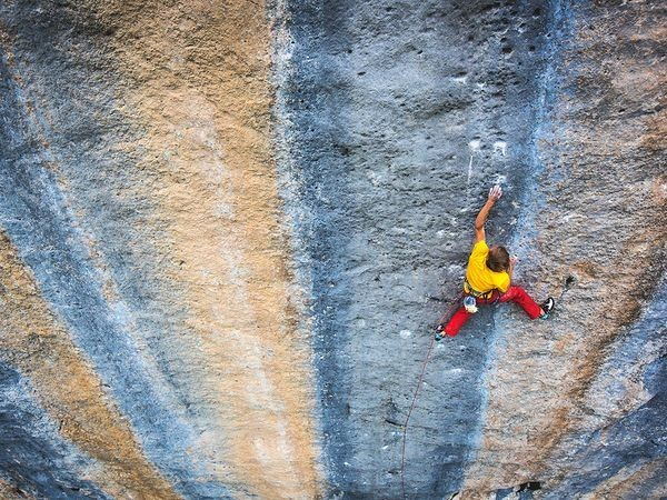 Behind the Shot: Alexander Megos, 20, on Climbing World-Famous Biographie in France
