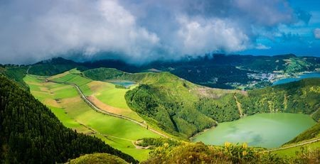 Bowls of sleeping volcanoes Photo by Evgeni Fab — National Geographic Your Shot
