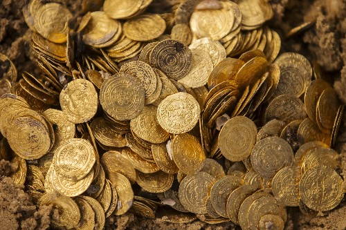 Archaeologists Stumble Across a Hoard of Gold