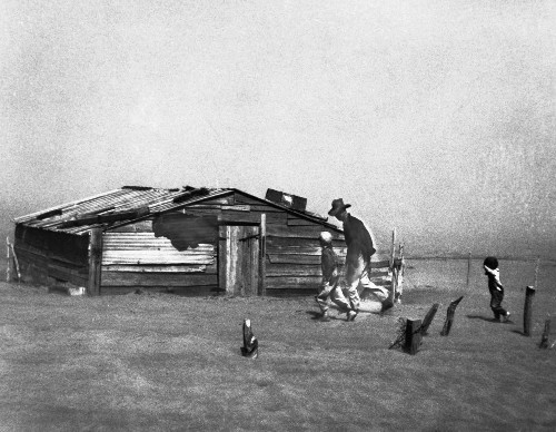 On the 'Grapes of Wrath' Trail, the Dust Bowl Still Resonates