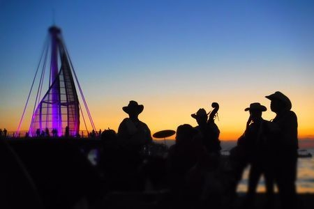 The Mariachi band played on... Photo by Algis Kemezys — National Geographic Your Shot