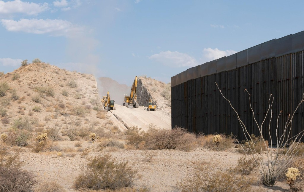 The U.S. border wall is tearing through wilderness, right under our noses