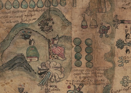 Rare Aztec Map Reveals a Glimpse of Life in 1500s Mexico