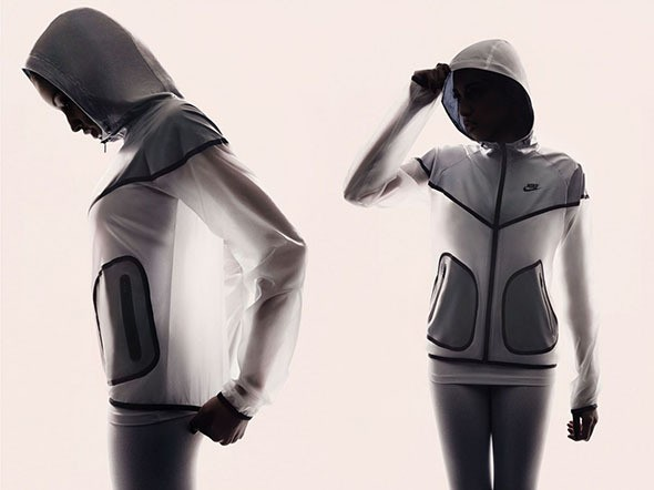 New Running Apparel by Nike Has Ghostly Style