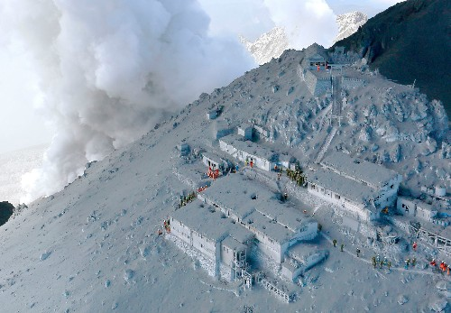 Explaining Surprise Eruption of Japan Volcano Where Dozens Are Presumed Dead