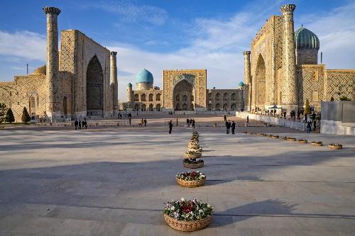 Into the blue of Uzbekistan