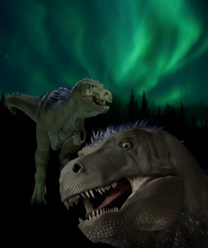 New Pygmy Tyrannosaur Found, Roamed the Arctic