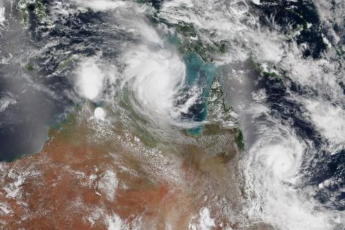 Rare Double Cyclones Sock Australia—Where Else Has This Happened?
