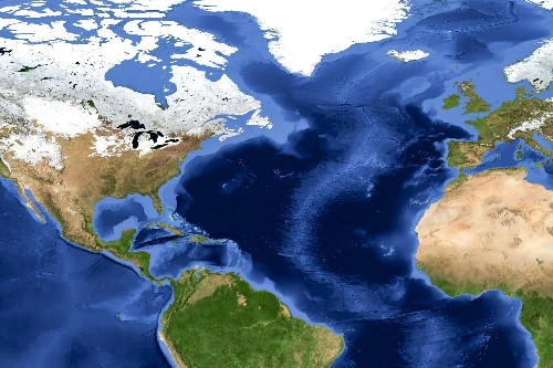 Atlantic Ocean to Disappear in 200 Million Years?